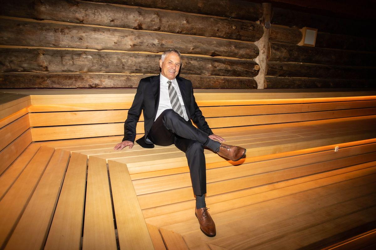 Etienne Van Der Zypen, ondervoorzitter Saunavereniging België