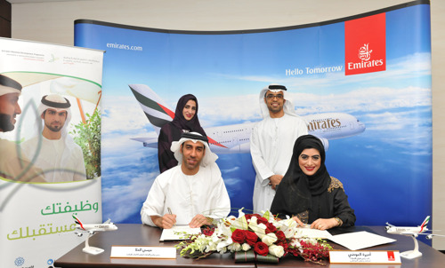 The Emirates Group sign MoU with Emirates Nationals Development Programme