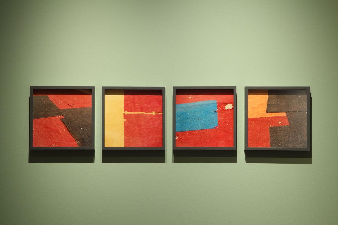 Untitled (Felt circus flooring, Tangier), 2013-2015 © Yto Barrada. Courtesy Pace Gallery, Londen; Sfeir-Semler Gallery Hamburg/Beirut; Galerie Polaris, Parijs<br/>Photo (c) Dirk Pauwels