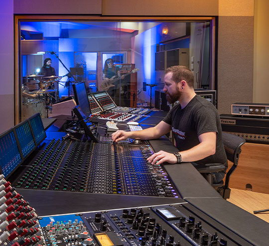 Sweetwater Studios' Russ Berger-designed Studio A