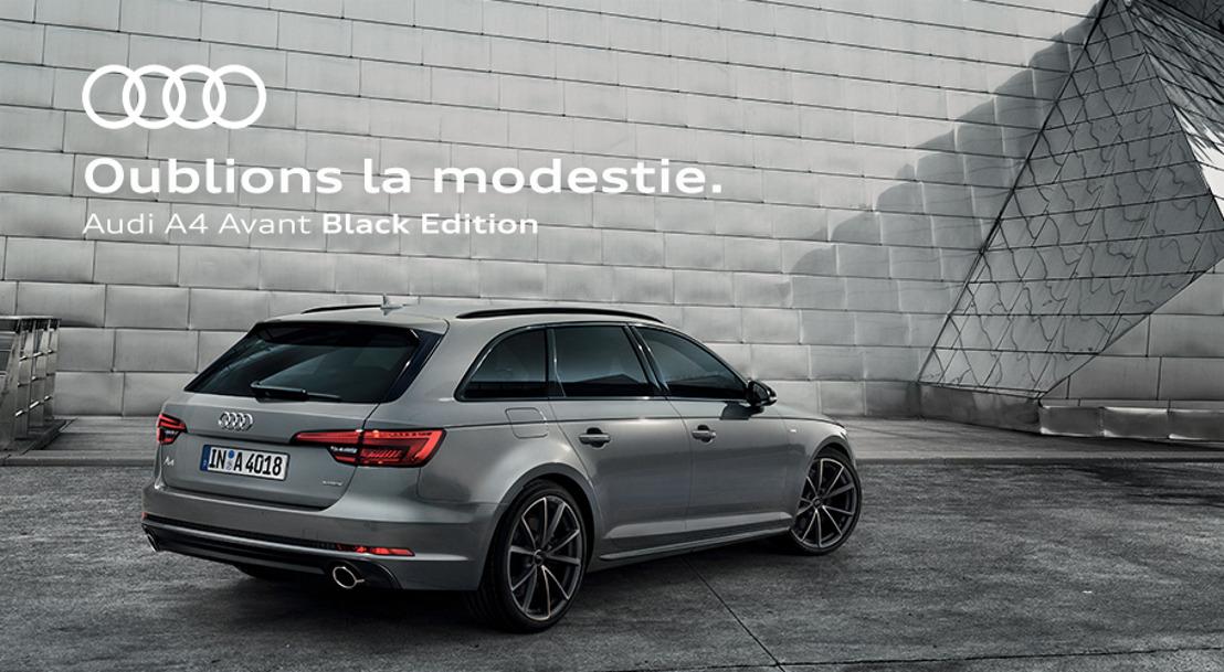 Prophets en Black Edition pour Audi