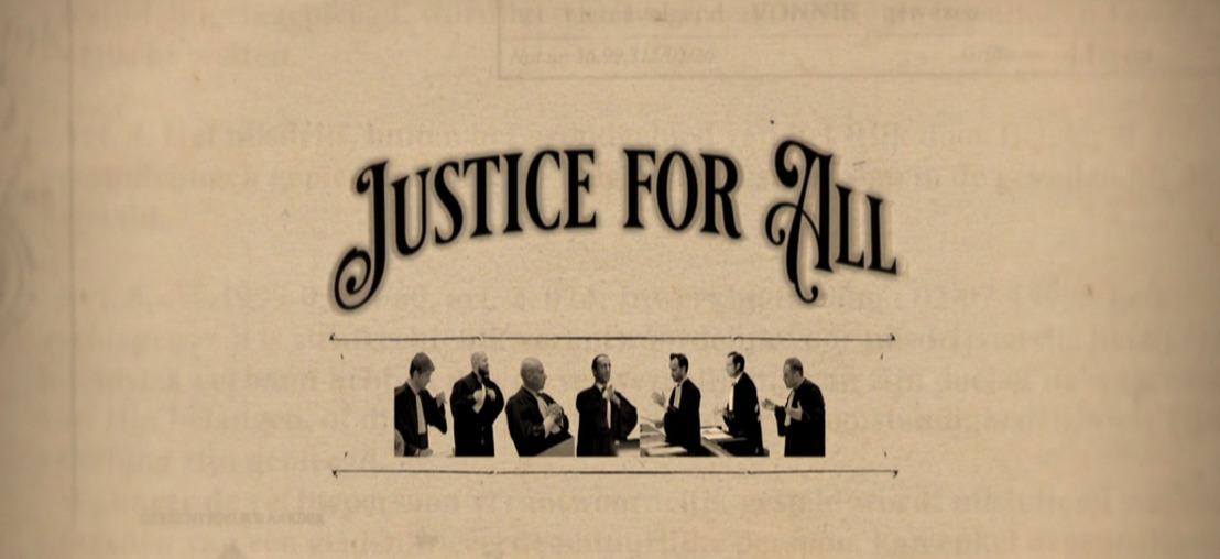 VIER-REEKS 'JUSTICE FOR ALL': een aparte kijk op de rechtszaak