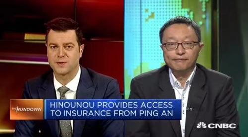 CNBC live TV interviews HiNounou Founder & CEO, Charles Bark