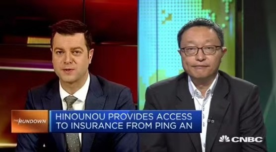 Preview: CNBC直播采访HiNounou诺童创始人Charles Bark