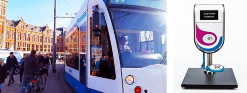 Amsterdam choisit les solutions de billettique high tech de Thales pour équiper ses autobus et tramways
