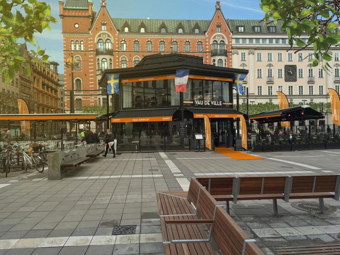 The Vau de Ville in Stockholm; the Expekt Euro 2016 meeting point