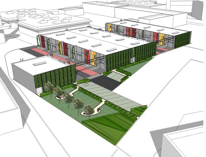 Persbericht - Zko-park Newton gaat de laatste bouwfase in