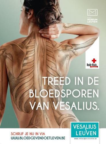 Treed in de bloedsporen van Vesalius en red een leven.