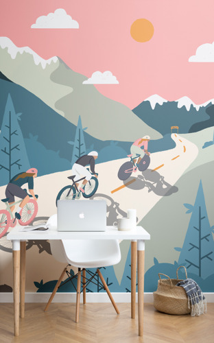 An unexpected homage to the Tour de France to add to the top of your décor wish-list