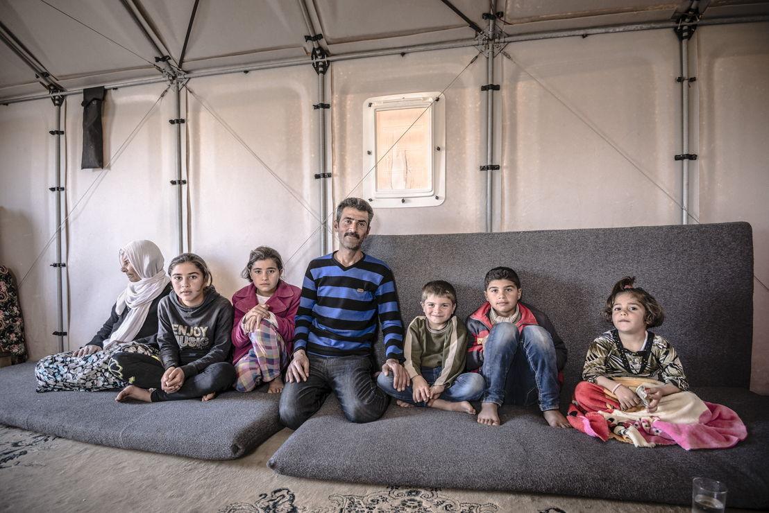 Kawergosk Refugee Camp, Erbil, Iraq March 2015 © Better Shelter