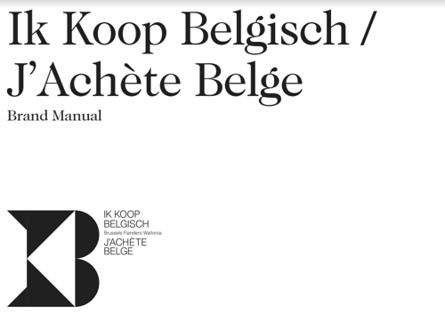 'Ik Koop Belgisch / J'Achète Belge' logo now available for use in your own brand campaign!