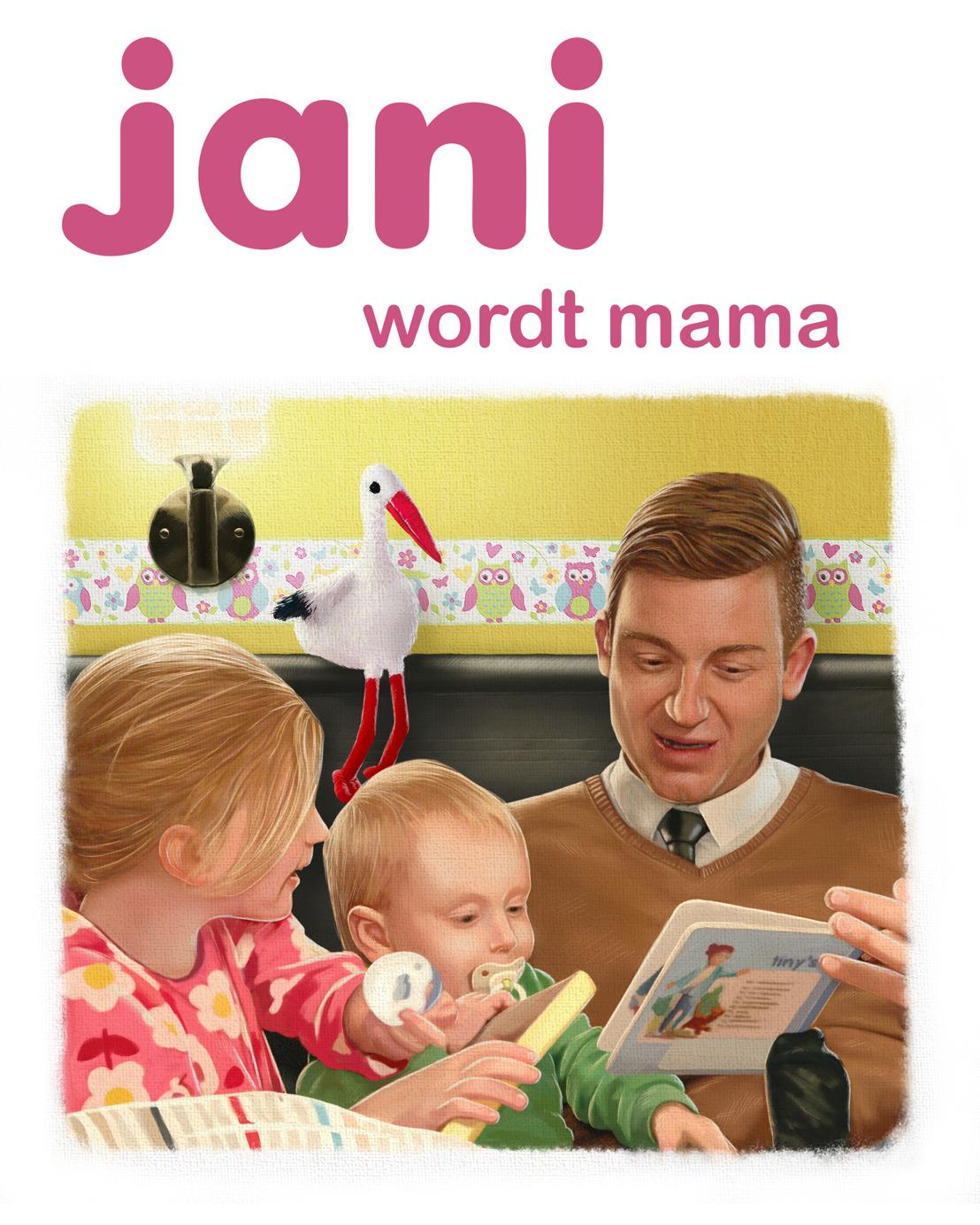 Jani wordt maandag mama