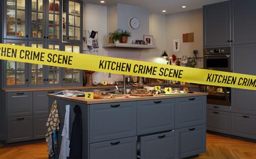 Haal de detective in je boven met IKEA en Kitchen Crime Scene