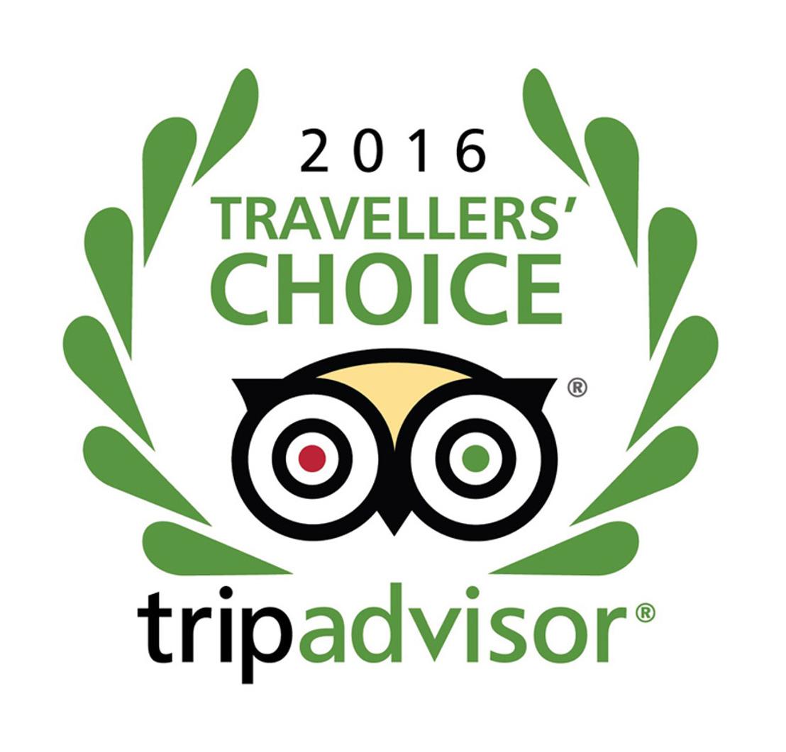Samsonite verkozen als ´Favourite Luggage Brand 2016´ tijdens de TripAdvisor's Travellers' Choice Awards.