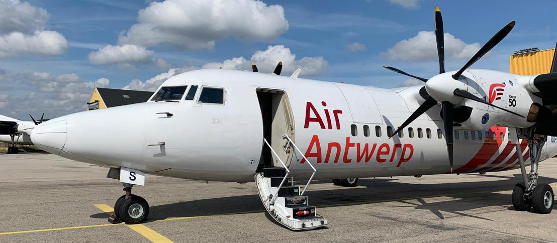 Air Antwerp receives first aircraft