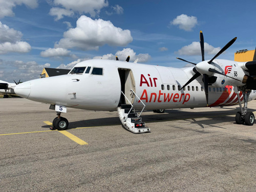 Air Antwerp receives first aircraft