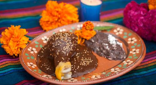 Comida para Día de Muertos: ¡placer de los vivos!
