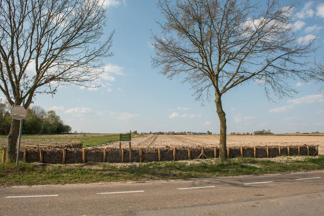 Houthakseldammen in Oorbeek en aan Industriepark in Tienen tegen water- en modderoverlast