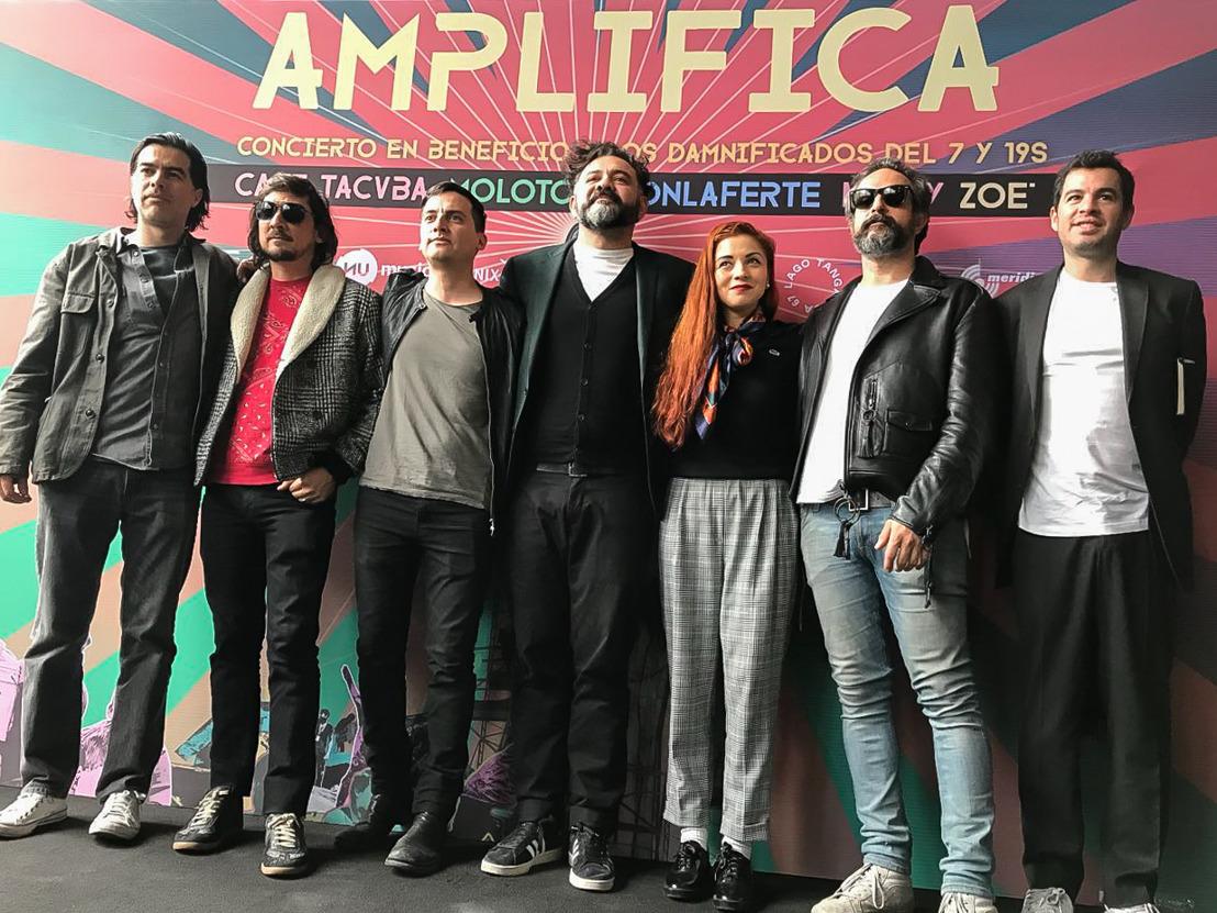 AMPLIFICA: concierto en beneficio de los damnificados de los sismos del 7 y 19 de septiembre