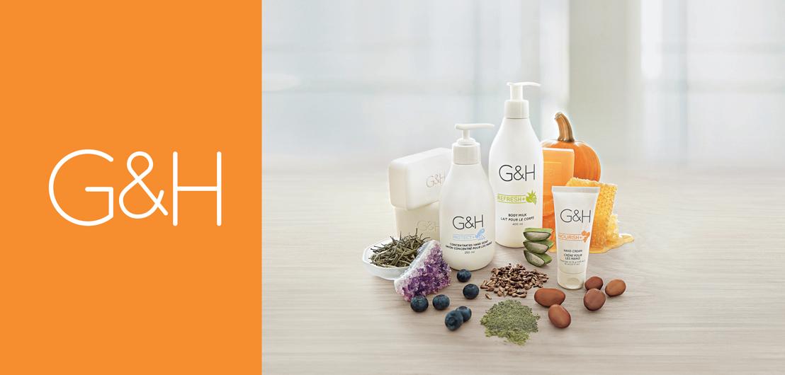 Amway lanceert G&H, een nieuwe generatie lichaamsverzorging geïnspireerd door de natuur gericht op een stralende huid voor de hele familie