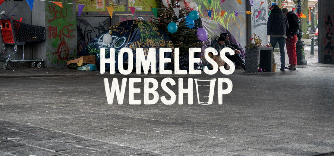 Homeless webshop