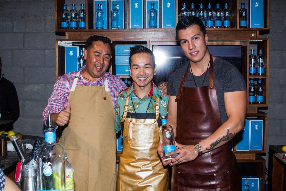 Alejandro Blanco, Antonio Lai y Manuel Valero