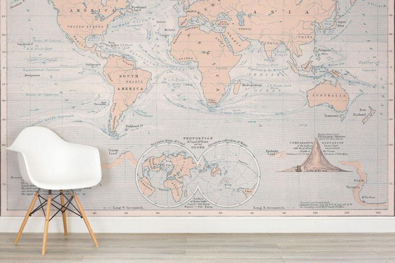 Ocean Currents World Map