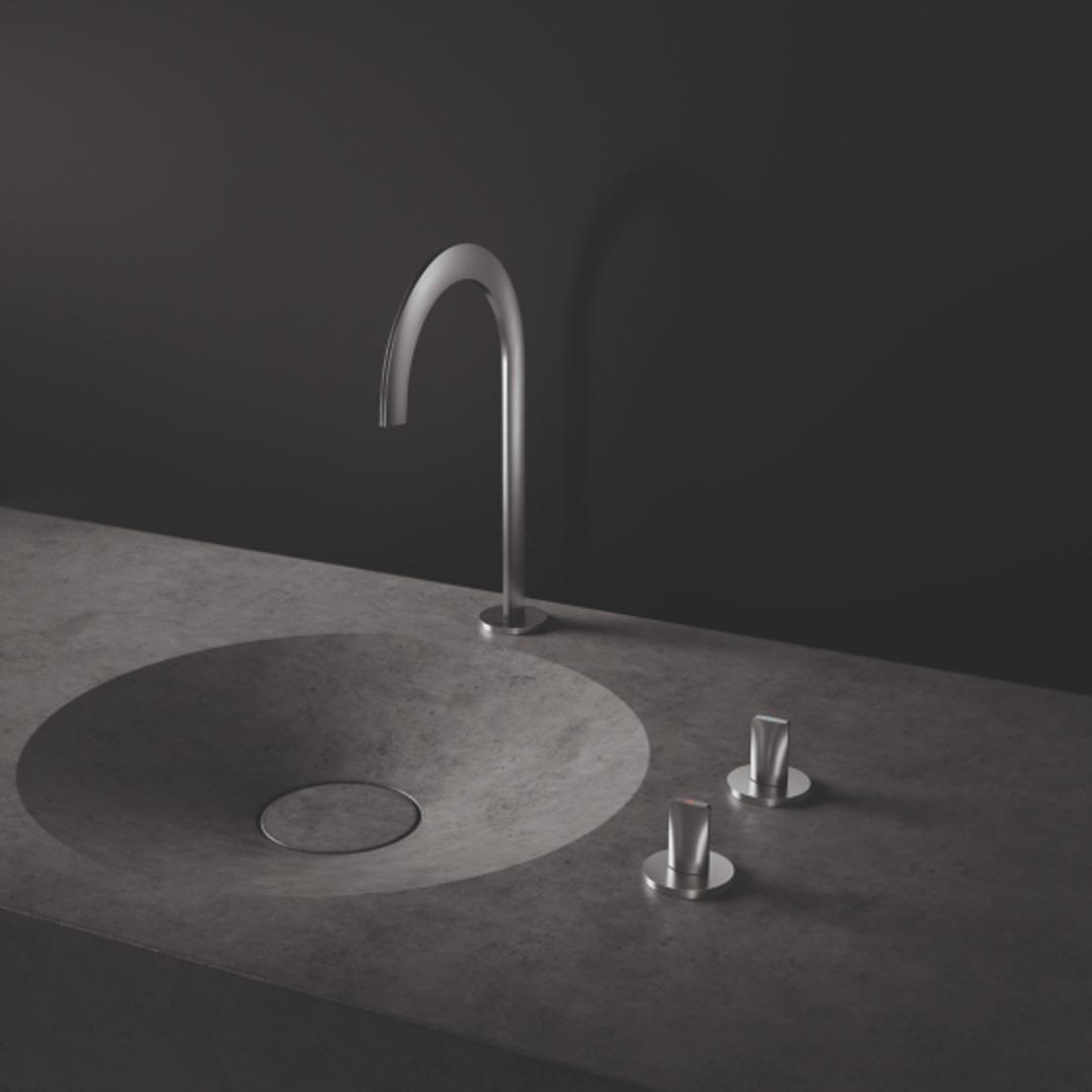 GROHE présente les premiers robinets métalliques imprimés en 3D – Shaping the future of water
