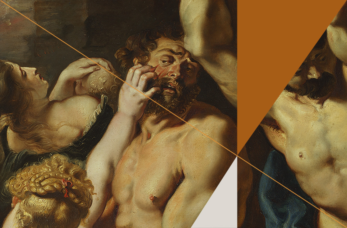 Rubens House shows Massacre of the Innocents and Head of the Apostle Matthew, two masterpieces by the young Rubens and Van Dyck, as part of Antwerp Baroque 2018