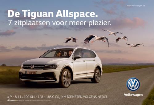 Volkswagen en DDB Brussels in blijde verwachting