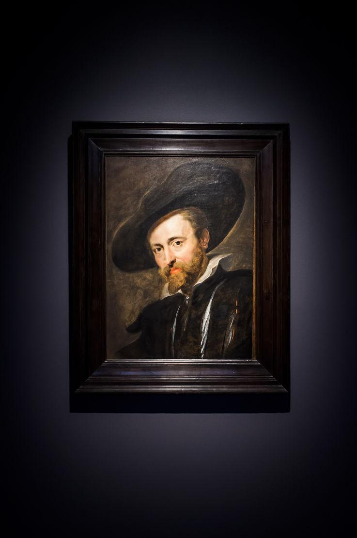 Zelfportret, Rubenshuis Antwerpen, schilderij in situ na restauratie in KIK-IRPA, opname 13 april 2018, foto Sigrid Spinnox