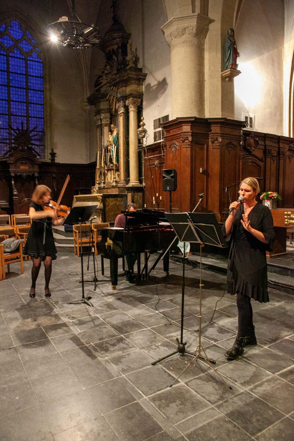 Foto: Kerk van St.-Martens-Bodegem als concertruimte