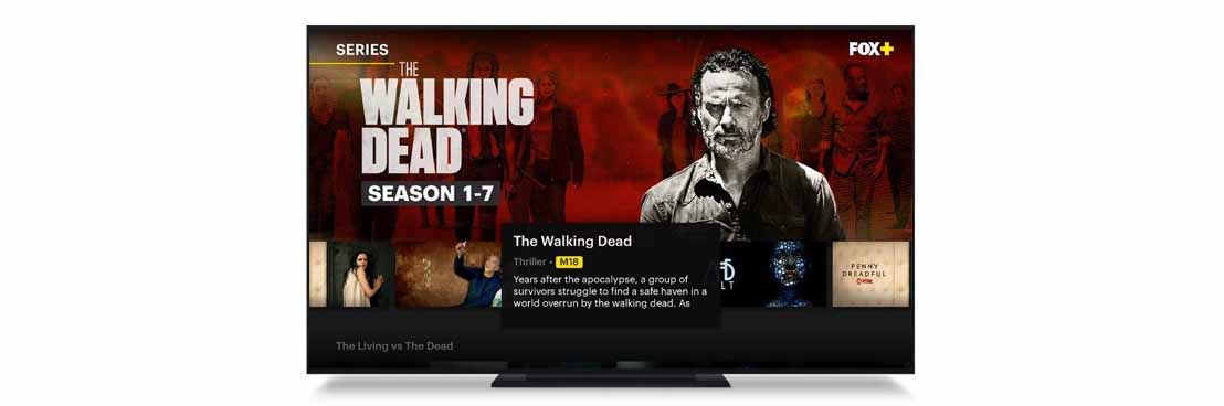 FOX+ to premiere season 8 and 100th episode of The Walking Dead, with full past seven seasons