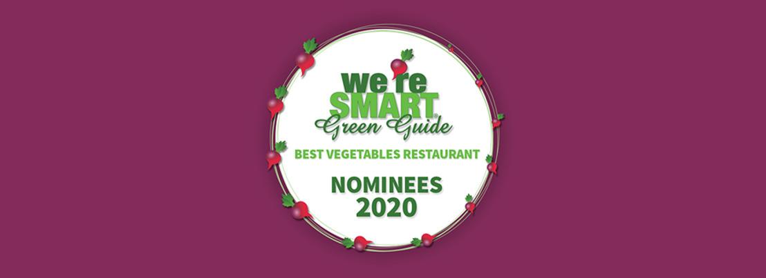 ANNONCE : Les nominés pour les «Best Vegetables Restaurants Awards 2020»