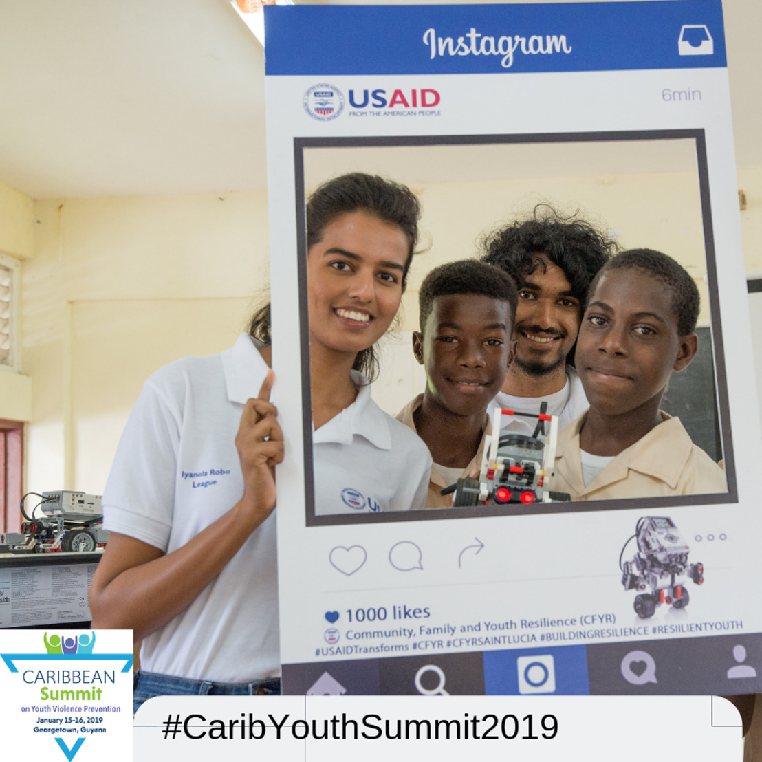 [MEDIA ALERT]: Youth Activists are Key Focus of Caribbean Violence Prevention Summit