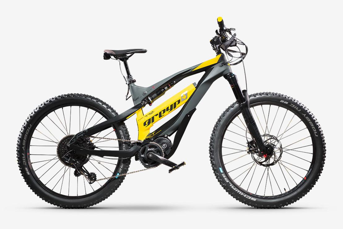 Greyp G6 Smart Mountain Bikes