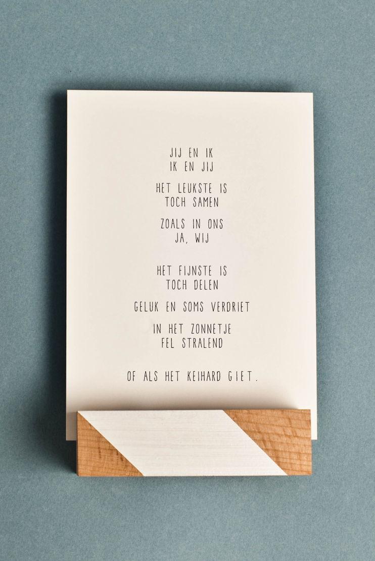 Gewoon JIP - Jij en ik gedichtje - €2,20