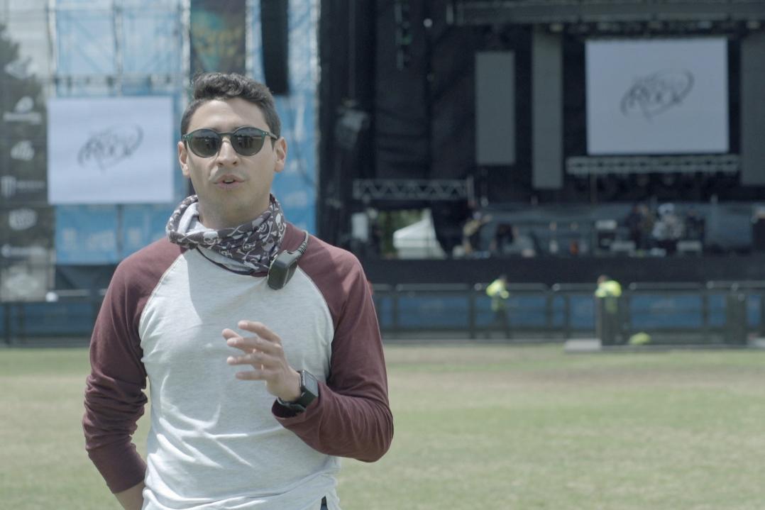 Pablo Mateus, Jefe de Ingeniería de P.A. Sound Colombia