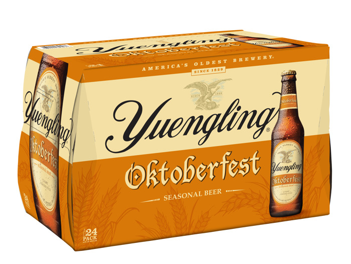 Yuengling Debuts New Look For Iconic Oktoberfest
