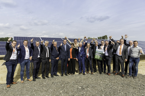 Preview: NMC and Luminus inaugurate the largest photovoltaic installation of the German-language community