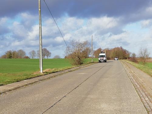 Veilig fietsen tussen Opvelp en Meldert
