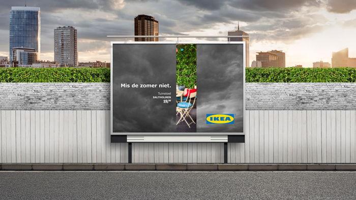 Preview: DDB speelt in op wisselvallig weer voor IKEA