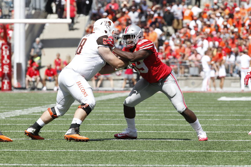 No. 3 OL Ryan Hunter Bowling Green (Photo Credit: University of Bowling Green)