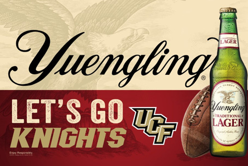 Yuengling Announces Official Partnership with the University of Central Florida Knights