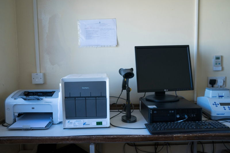 Gutu Mission Hospital's laboratory  © Melanie Wenger