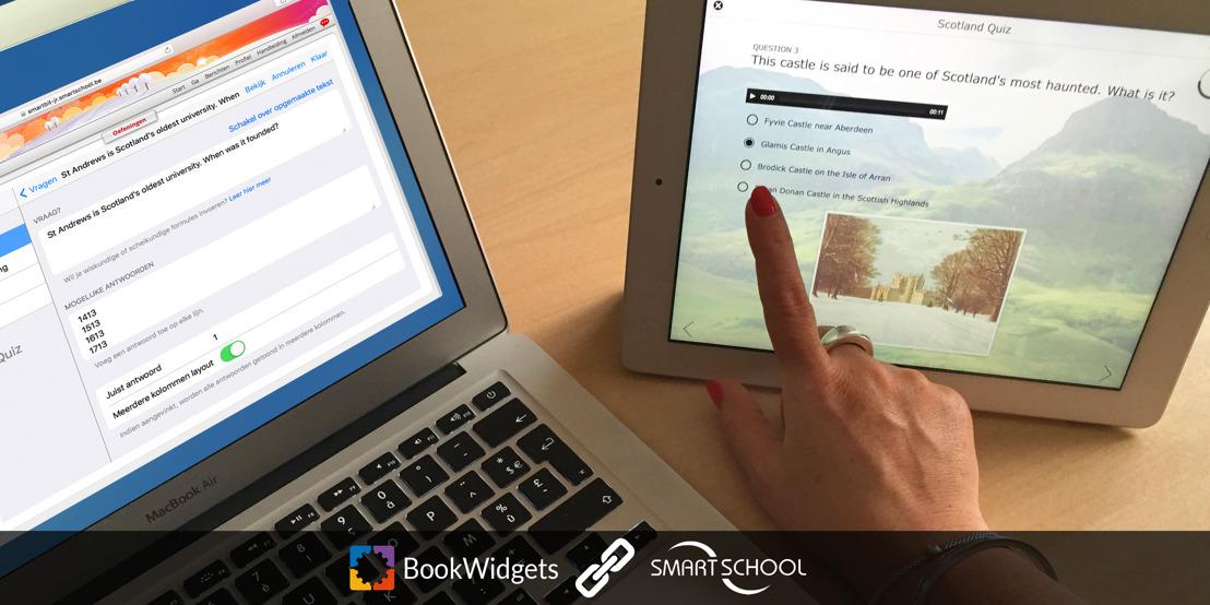 BookWidgets en Smartschool brengen 'automatisch verbeteren' naar Vlaamse scholen