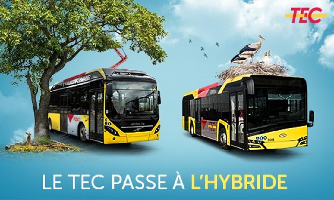Le TEC déploie les bus hybrides sur le réseau