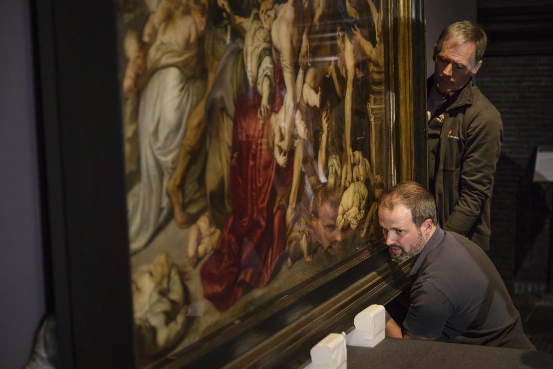 Image name: 32_Rubens, Arrival of the Massacre at the Rubens House, The Thomson Collection at the Art Gallery of Ontario, Art Gallery of Ontario, photo Ans Brys.jpg
