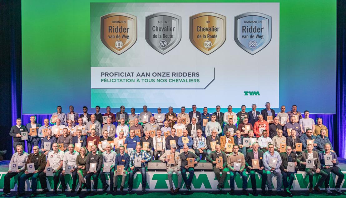 Nombre record de Chevaliers de la Route pour la 15e édition