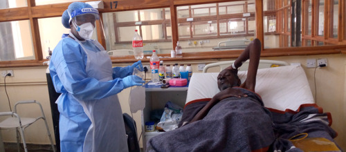 ZIMBABWE: CENA programme equips nurse aides to improve COVID-19 patient care at two hospitals